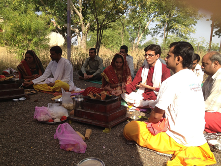 ROG MUKTI YAGNA AND LUNCH FOR LAPRACY PEOPLE