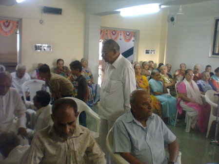 PAD PRAKSHALAN VIDHI AND POOJA FOR OLD AGE HOME OLD AND NEW FOR BHAVNAGAR
